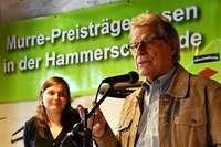 Gewinner des Murre-Mundart-Wettbewerbs haben in der Hammerschmiede gelesen