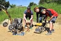 Wittnauer Jugendliche bauen aus 200 Tonnen Erde einen Pumptrack