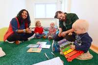 Ludwigskinderkrippe in Freiburg-Neuburg hat jetzt Platz für zehn Kinder mehr