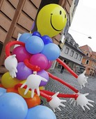Stadt, Sand, Schuss: Kinderfest in der Innenstadt