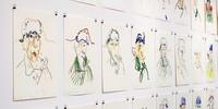 Das Kunsthaus Zürich zeigt Zeichnungen nach Museumsbildern von Guillaume Bruère