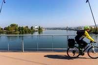 Wie gut sind die Radwege entlang des Rheins? Ein Strecken-Check