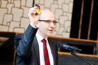 Verfassungsrichter Maidowski in Lahr: Grundgesetz immer in der Tasche
