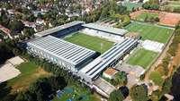 Nach 2020 könnten zwei Tribünen des alten SC-Stadions wegfallen