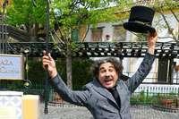 Seit 33 Jahren imitiert Albert de Paris Charlie Chaplin im Europa-Park