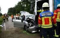 Ein Toter und zwei Verletzte nach Unfall auf Zubringer-Nord
