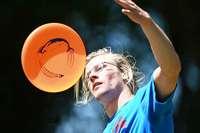 Frisbee-Champions bringen Scheiben ins Rotieren