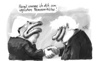 Ziemlich beste Freunde: Donald Trump und Boris Johnson