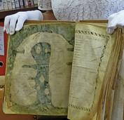 Uralte Weltkarte in Albi