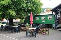 Gaststätte mit Bahnwaggon in Kandern zu verkaufen