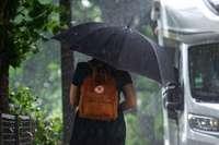 Wetter wird unangenehmer im Südwesten – Starkregen und Hagel möglich