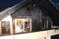 Keine Verletzten bei Dachgeschoss-Brand in Bad Krozingen
