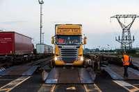 Zahl der Lastwagen auf Zügen nach Italien soll verdoppelt werden