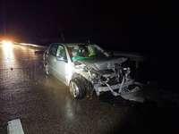 Frau bleibt bei Unfall auf der A 3 unverletzt – Totalschaden am Auto
