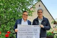 Die Feuerwehr in Schallstadt bekommt 4000 Euro für Defibrillatoren