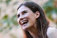 Schwierige Rückkehr: Amanda Knox ist wieder in Italien