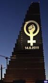 Frauen und Männer fordern Gleichstellung