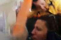 Handyvideo zeigt Albtraum an Bord bei Flug nach Basel