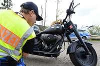 Zahlreiche Verstöße bei Motorradkontrollen im Landkreis Lörrach