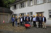 Baustart am Schlossberg