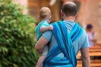 Warum großhirnige Kinder ihren Vätern dankbar sein können