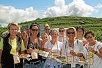 1700 Teilnehmer bei der kulinarischen Weinwanderung in Oberrotweil