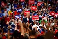 Trump startet offiziell die Kampagne für seine Wiederwahl 2020