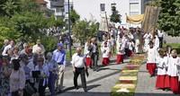 Prozession durch Friedlingen