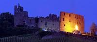 Johannesfeuer auf der Staufener Burg