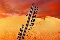 Sahara-Luft strömt über Spanien und Frankreich nach Südbaden