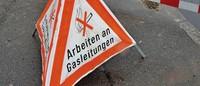 Neue Gas- und Wasserleitungen im Ort