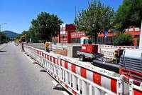 Bei der Verlegung der Fernwärmeleitungen in der Eschholzstraße kommt es zu Verzögerungen