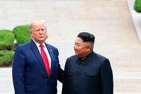 Trump betritt als erster US-Präsident nordkoreanischen Boden