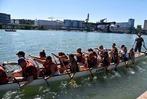 Fotos: Drachenboot-Rennen des Ruderclubs Grenzach auf dem Rhein