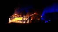 Scheunenbrand bei Grafenhausen: Polizei geht von Brandstiftung aus – Zusammenhang zur Serie noch offen
