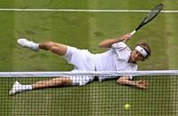 Bruchlandung in Wimbledon