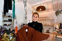 In der Kleiderei in Freiburg kann man Mode leihen statt kaufen