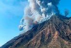 Fotos: Großer Vulkanausbruch auf der Insel Stromboli