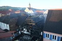 Ermittlungsgruppe aufgestockt nach Scheunenbrand mitten in Ringsheim