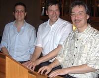 Andreas Mölder, Christoph Bogon und Dieter Lämmlin gestalten Orgelnacht in Schopfheim
