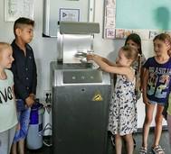 Wasserspender für die Schule