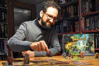 Wie ein Freiburger mit einem Verlag für Brettspiele durchstarten will