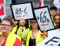 Die Löhne im Einzelhandel steigen