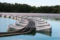 Eine schwimmende Fotovoltaik-Anlage in der Ortenau