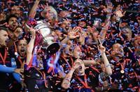 """Stadtionfest im Basler """"Joggeli"""" zum 125-Jahre Jubiläum des FC Basel"""