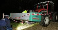 Traktor überrollt zwei Kinder