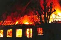 """Der """"Schwanen"""" brannte 1978 aus – und wurde wieder aufgebaut"""