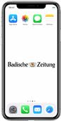 BZ-Online lässt sich auf dem iPhone kinderleicht aufrufen