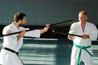 Eine alte Kampfkunst aus Okinawa, die sich aus Karate entwickelt hat