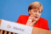 Merkel verurteilt Trumps Attacken gegen Demokratinnen